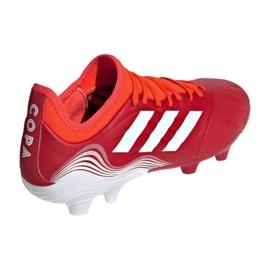 Buty piłkarskie adidas Copa Sense.3 Fg M FY6196 wielokolorowe czerwone 2