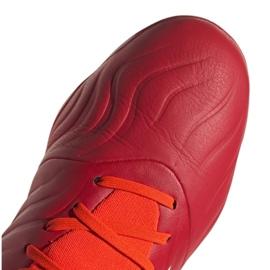 Buty piłkarskie adidas Copa Sense.3 Fg M FY6196 wielokolorowe czerwone 5