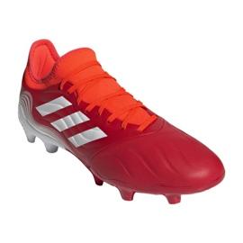 Buty piłkarskie adidas Copa Sense.3 Fg M FY6196 wielokolorowe czerwone 6