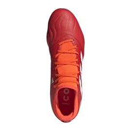 Buty piłkarskie adidas Copa Sense.3 Fg M FY6196 wielokolorowe czerwone 7