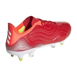 Buty piłkarskie adidas Copa Sense.1 Sg M FY6201 czerwone czerwone 2