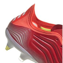 Buty piłkarskie adidas Copa Sense.1 Sg M FY6201 czerwone czerwone 5