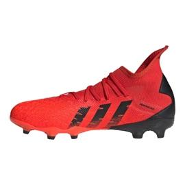 Buty piłkarskie adidas Predator Freak.3 Fg M FY6279 czerwone czerwone 1