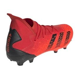 Buty piłkarskie adidas Predator Freak.3 Fg M FY6279 czerwone czerwone 2