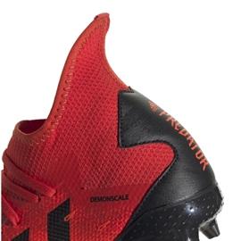 Buty piłkarskie adidas Predator Freak.3 Fg M FY6279 czerwone czerwone 4