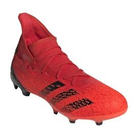Buty piłkarskie adidas Predator Freak.3 Fg M FY6279 czerwone czerwone 6