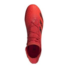 Buty piłkarskie adidas Predator Freak.3 Fg M FY6279 czerwone czerwone 7