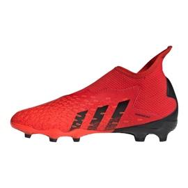 Buty piłkarskie adidas Predator Freak.3 Ll Fg Jr FY6296 czerwone wielokolorowe 1