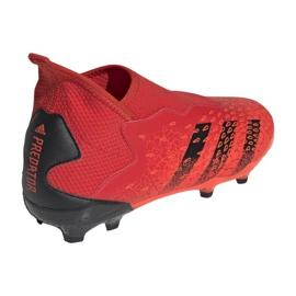 Buty piłkarskie adidas Predator Freak.3 Ll Fg Jr FY6296 czerwone wielokolorowe 2