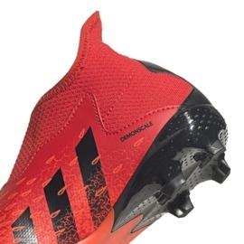 Buty piłkarskie adidas Predator Freak.3 Ll Fg Jr FY6296 czerwone wielokolorowe 4