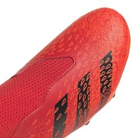 Buty piłkarskie adidas Predator Freak.3 Ll Fg Jr FY6296 czerwone wielokolorowe 5