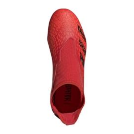 Buty piłkarskie adidas Predator Freak.3 Ll Fg Jr FY6296 czerwone wielokolorowe 7