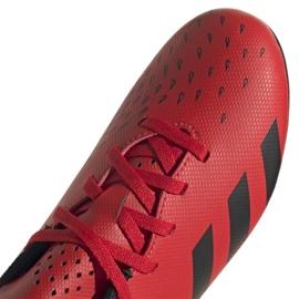 Buty piłkarskie adidas Predator Freak.4 FxG Jr FY6322 czerwone czerwone 4