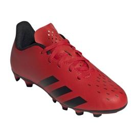 Buty piłkarskie adidas Predator Freak.4 FxG Jr FY6322 czerwone czerwone 6