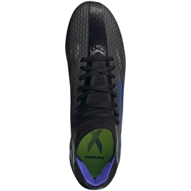 Buty piłkarskie adidas X Speedflow.3 Fg M FY3296 czarne czarne 1