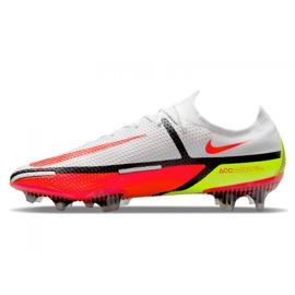 Buty piłkarskie Nike Phantom GT2 Elite Fg M CZ9890-167 białe wielokolorowe 1