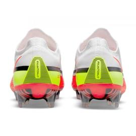 Buty piłkarskie Nike Phantom GT2 Elite Fg M CZ9890-167 białe wielokolorowe 4