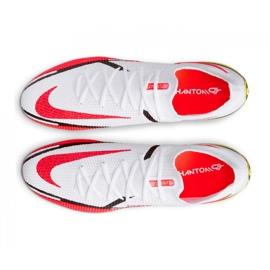 Buty piłkarskie Nike Phantom GT2 Elite Fg M CZ9890-167 białe wielokolorowe 5