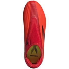 Buty piłkarskie adidas X Speedflow.3 Fg Ll Jr FY3257 wielokolorowe czerwone 1