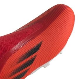 Buty piłkarskie adidas X Speedflow.3 Fg Ll Jr FY3257 wielokolorowe czerwone 3