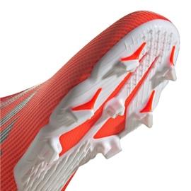 Buty piłkarskie adidas X Speedflow.3 Fg Ll Jr FY3257 wielokolorowe czerwone 4