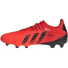 Buty piłkarskie adidas Predator Freak.3 L Fg M FY6289 wielokolorowe czerwone 1
