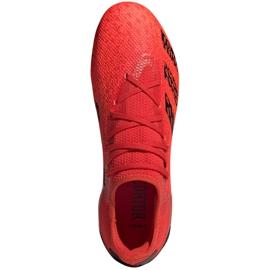 Buty piłkarskie adidas Predator Freak.3 L Fg M FY6289 wielokolorowe czerwone 2