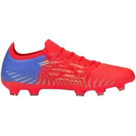 Buty piłkarskie Puma Ultra 3.3 Fg Ag M 106523 01 czerwone czerwone 1