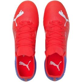 Buty piłkarskie Puma Ultra 3.3 Fg Ag M 106523 01 czerwone czerwone 4