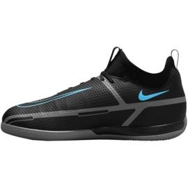 Buty piłkarskie Nike Phantom GT2 Academy Df Ic Jr DC0815 004 czarne czarne 2