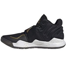 Buty adidas Deep Threat Primeblue Jr S29014 czarne niebieskie 1