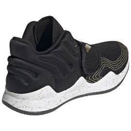 Buty adidas Deep Threat Primeblue Jr S29014 czarne niebieskie 4