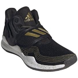 Buty adidas Deep Threat Primeblue Jr S29014 czarne niebieskie 5