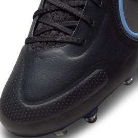 Buty piłkarskie Nike Tiempo Legend 9 Elite SG-Pro Ac M DB0822-004 czarne czarne 7