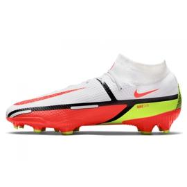 Buty piłkarskie Nike Phantom GT2 Pro Df Fg M DC0759-167 białe wielokolorowe 1