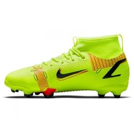 Buty piłkarskie Nike Superfly 8 Academy Mg Jr CV1127-760 zielone zielone 1
