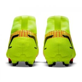 Buty piłkarskie Nike Superfly 8 Academy Mg Jr CV1127-760 zielone zielone 3