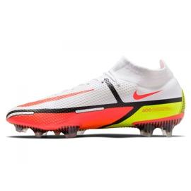 Buty piłkarskie Nike Phantom GT2 Elite Df Fg M CZ9889-167 białe wielokolorowe 1