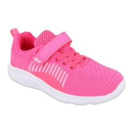 Befado obuwie dziecięce  516X058 różowe 1
