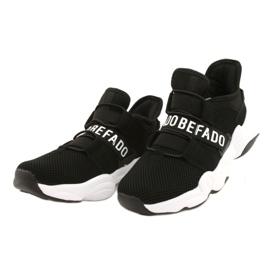 Befado obuwie młodzieżowe  516Q066 czarne 2