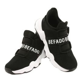 Befado obuwie młodzieżowe  516Q066 czarne 4
