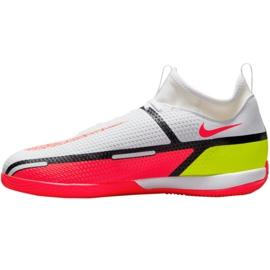 Buty halowe Nike Phantom GT2 Academy Df Ic Jr DC0815-167 białe białe 2