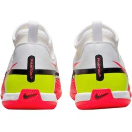 Buty halowe Nike Phantom GT2 Academy Df Ic Jr DC0815-167 białe białe 3