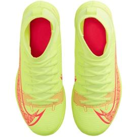 Buty halowe Nike Mercurial Superfly 8 Club Ic Jr CV0792-760 żółte żółte 1