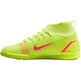 Buty halowe Nike Mercurial Superfly 8 Club Ic Jr CV0792-760 żółte żółte 2