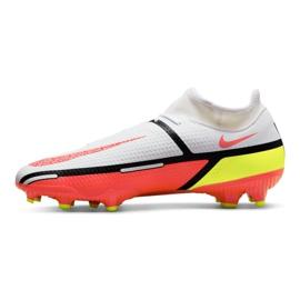 Buty piłkarskie Nike Phantom GT2 Academy Dynamic Fit FG/MG M DC0797-167 białe wielokolorowe 1