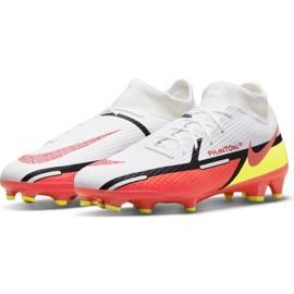 Buty piłkarskie Nike Phantom GT2 Academy Dynamic Fit FG/MG M DC0797-167 białe wielokolorowe 3