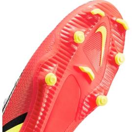 Buty piłkarskie Nike Phantom GT2 Academy Dynamic Fit FG/MG M DC0797-167 białe wielokolorowe 5
