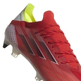 Buty piłkarskie adidas X SpeedFlow.1 Sg M FY3355 wielokolorowe pomarańczowe 3