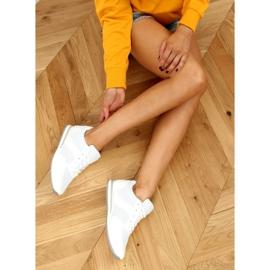 Buty sportowe damskie białe SC27H White 2